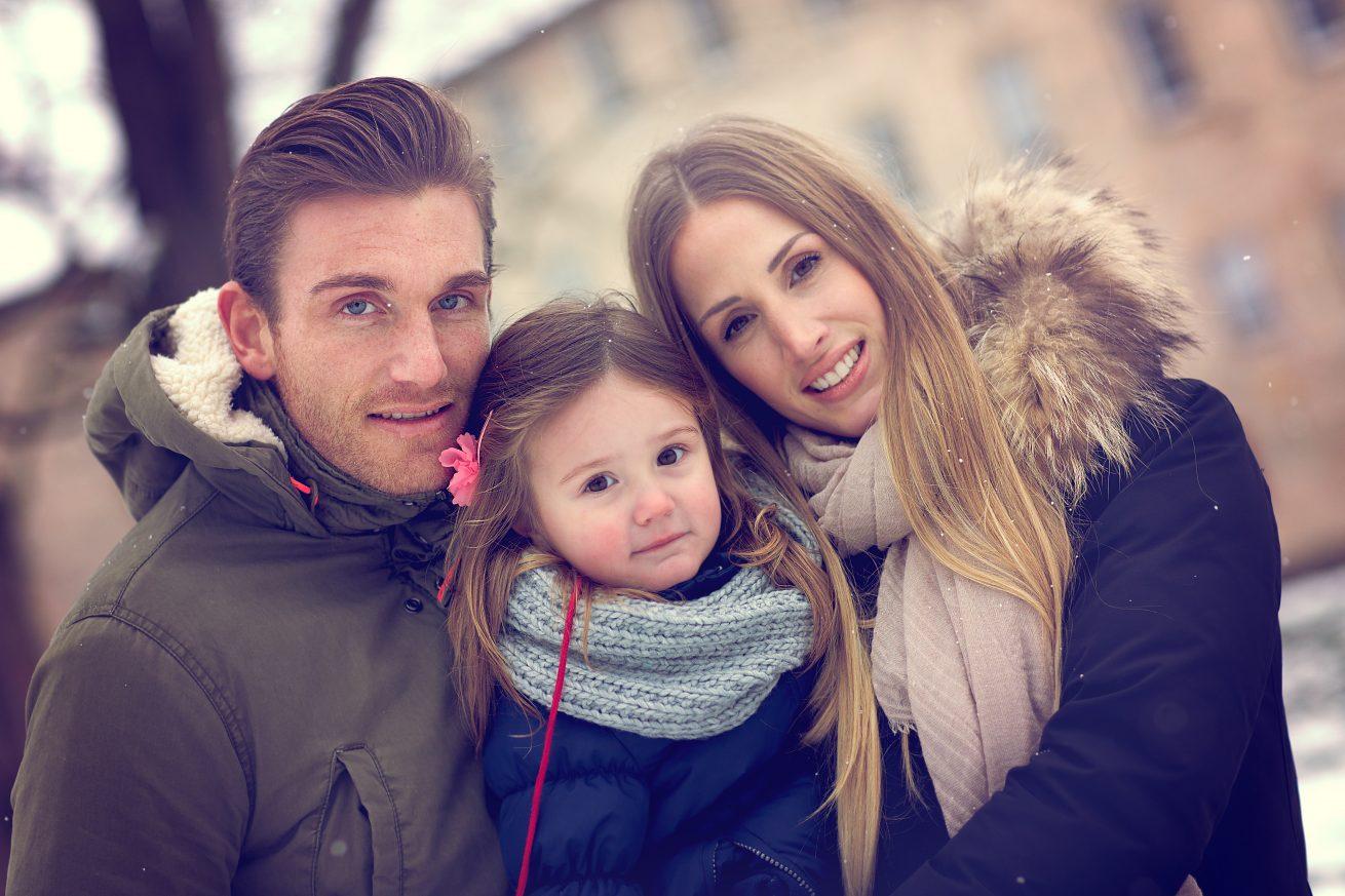 Familienfotos in der Natur